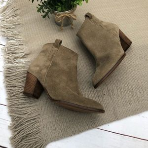 MADEWELL suede Billie boot 6